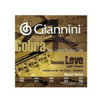 Encordoamento de Viola Giannini Cobra Leve Gesvl -