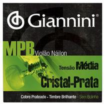 Encordoamento de violão nylon Giannini GENWS -