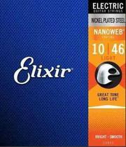 Encordoamento Elixir Guitar Nanoweb 1046 Light -