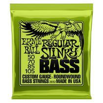 Encordoamento Ernie Ball 050-105 P/ Baixo 4 Cordas Regular Slinky Niquel 2832 -