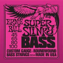 Encordoamento Ernie Ball Baixo 4 Cordas 0,45 -