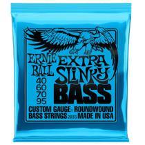 Encordoamento Ernie Ball Baixo 4c 040-095 Extra Slinky Niquel P02835 -