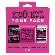 Encordoamento Ernie Ball P03333 p/ Guitarra 009-042 (PACK 3) -