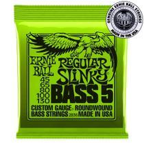 Encordoamento Ernie Ball Regular Slinky Bass 5 .045 P/ Baixo -