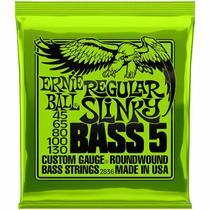 Encordoamento Ernie Ball Regular Slinky P02836 para Baixo 5 Cordas -