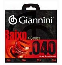 Encordoamento Giannini .040 - Geebrl Contrabaixo 4 Cordas -