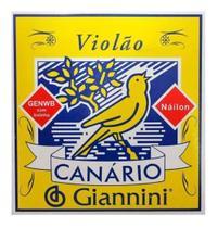 Encordoamento Giannini Canario Genwb Violão Nylon com Bolinha -