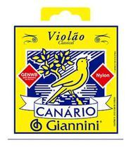 Encordoamento Giannini Canário Náilon p/ Violão - GENWB -