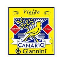 Encordoamento Giannini Canário violão nylon GENWB com bolinha -
