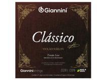 Encordoamento Giannini Clássico para Violão Nylon Tensão Leve GENWPL -