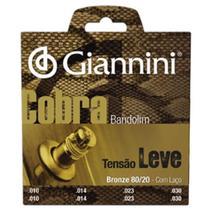 Encordoamento Giannini Cobra CM82L para Bandolim - Leve -
