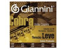 Encordoamento Giannini Cobra para Viola Cobre Prateado Tensão Leve GESVL -