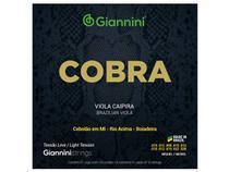 Encordoamento Giannini Cobra para Viola Níquel Tensão Leve GESVNL -
