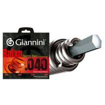 Encordoamento Giannini Contrabaixo 040 - Jogo C/ 4 Cordas GEEBRL -