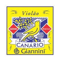 Encordoamento Giannini GENW para Violão  Nylon -