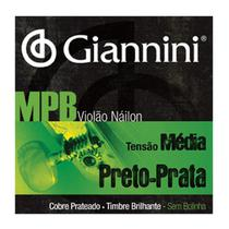 Encordoamento Giannini GENWBS Violão Nylon -
