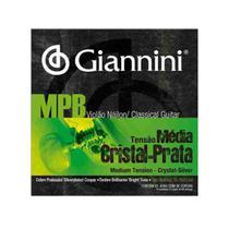 Encordoamento Giannini Genws MPB Tensão Média Violão Nylon -
