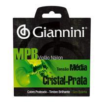 Encordoamento Giannini GENWS para Violao  Serie MPB  Nylon -