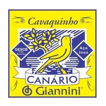 Encordoamento Giannini GESCB .010/.023 Canário Para Cavaco -