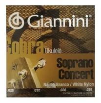 Encordoamento Giannini Geuksc 028 Cobra Ukulele Concert + Nf -