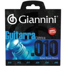 Encordoamento giannini guitarra geegst.10 niquel 0.010 -