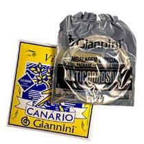 Encordoamento Giannini Modelo Canário P/ Violão Aço C/ Bolinha .011 - GESWB -