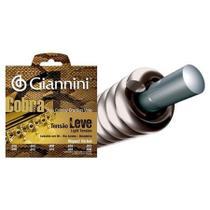 Encordoamento Giannini Modelo Cobra P/ Viola - Tensão Leve .010 Níquel Cebolão em Mi GESVNL -
