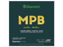 Encordoamento Giannini MPB para Violão Nylon Cristal Ouro GENWG -