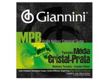 Encordoamento Giannini MPB para Violão Nylon Cristal Prata GENWS -