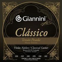 Encordoamento Giannini  P/ Violão Náilon Clássico Tensão Alta -- GENWPA -
