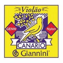 Encordoamento Giannini Para Violão Nylon Canario Genw -
