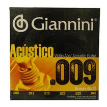 Encordoamento Giannini Violao Bronze Geswal 009 -