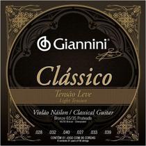 Encordoamento giannini violao classico ny leve prata genwpl -