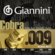Encordoamento giannini violao geewak bronze 85/15 0.009 -
