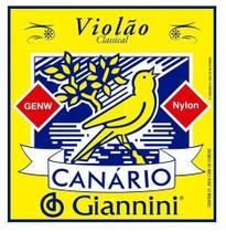Encordoamento Giannini Violão Genw Nailon Canario -