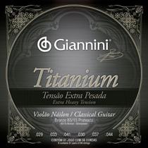 Encordoamento Giannini Violão Revestimento Em Bronze Genwxta -