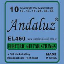 Encordoamento Guitarra 0.10 EL460 - Andaluz -
