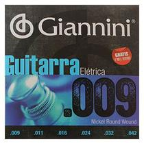 Encordoamento Guitarra .009 Giannini GEEGST9 -