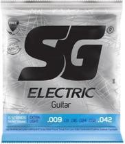 Encordoamento Guitarra 009 SG Extra Light -