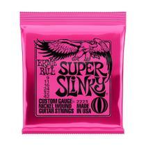 Encordoamento Guitarra 009 Super Slinky Ernie Ball P02223 -
