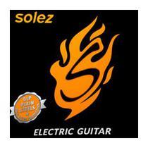 Encordoamento Guitarra .010 Ligth Solez SLG10 -