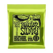 Encordoamento Guitarra 010 Regular Slink Ernie Ball P02221 -