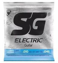 Encordoamento Guitarra 010 - Sg 5198 Corda Palheta -