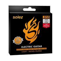 Encordoamento Guitarra 0,10 SLG10 Solez -