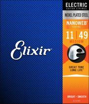 Encordoamento Guitarra 0,11 Elixir Nanoweb Medium -