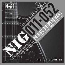 Encordoamento Guitarra 011 N61 - NIG -