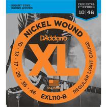 Encordoamento Guitarra Daddario .010 EX110 Nickel Wound -