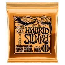 Encordoamento guitarra ernie ball 2222 009/046 hibrid slinky -