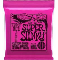 Encordoamento Guitarra Ernie Ball Guitarra 0.9 Super Slinky -