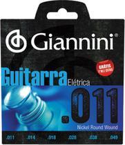Encordoamento guitarra giannini 0.11 -